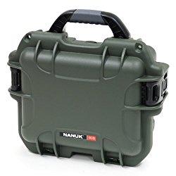 Nanuk 905 Hard Case with Cubed Foam (Olive)