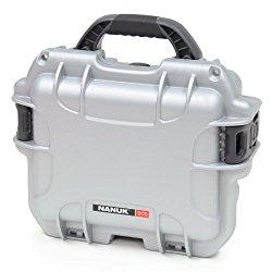 Nanuk 905 Hard Case with Cubed Foam (Silver)
