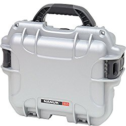 Nanuk 905 Hard Case with Padded Divider (Silver)