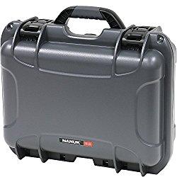 Nanuk 915 Hard Case with Cubed Foam (Graphite)