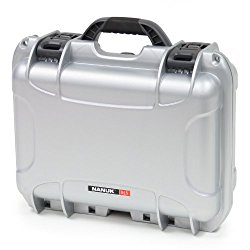 Nanuk 915 Hard Case with Padded Divider (Silver)