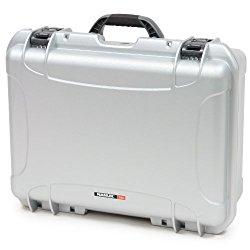 Nanuk 940 Hard Case with Cubed Foam (Silver)