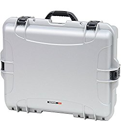 Nanuk 945 Hard Case with Padded Divider (Silver)