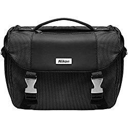 Nikon Deluxe Digital SLR Camera Case – Gadget Bag for D4s, D800, D610, D7100, D7000, D5500, D5300, D5200, D5100, D3300, D3200, D3100
