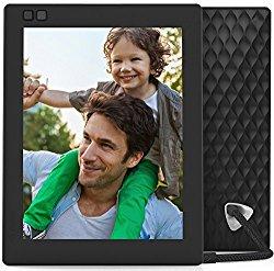 Nixplay Seed 8 inch WiFi Digital Photo Frame – Black