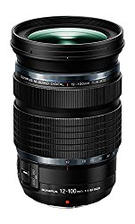 Olympus M.Zuiko Digital ED 12-100mm f4.0 PRO Lens, Black