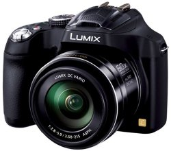 Panasonic LUMIX DMC-FZ70 16.1 MP Digital Camera with 60x Optical Image Stabilized Zoom and 3-Inch LCD (Black) – International Version (No Warranty)
