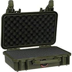 Pelican 1170 Watertight Case w/Lid & Foam, OD Green 1170-000-130