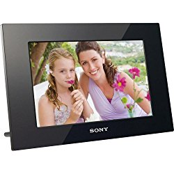 Sony DPF-D1010 10.2-Inch WVGA LCD (16:10) Digital Photo Frame (Black)