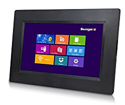 Sungale CPF708 7″ Smart Wi-Fi Cloud Digital Photo Frame with touch screen operation, free Cloud storage, real-time photos, Movie, Social Media, Browser, all apps