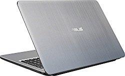 2016 Newest ASUS 15.6″ High Performance Premium HD Laptop (Intel Quad Core Pentium N3700 Processor up to 2.4 GHz, 4GB RAM, 500GB HDD, SuperMulti DVD, Wifi, HDMI, VGA, Webcam, Windows 10-silver)