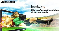 AVerMedia AVerTV Volar Hybrid Q, USB 2.0 TV Tuner, ATSC, Clear QAM HDTV & FM Radio (H837)