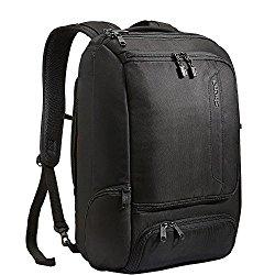 eBags Professional Slim Laptop Backpack (Solid Black)