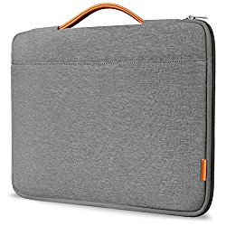 Inateck 13-13.3 Inch Macbook Air/ Macbook Pro / Pro Retina Sleeve Case Cover Protective Bag Ultrabook Netbook Carrying Protector Handbag for 13″ Macbook Air, MacBook Pro (Retina), Dark Gray