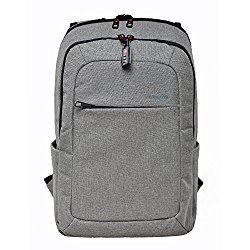 Kopack Slim Business Laptop Backpacks Travel Rucksack Daypack with Tear Resistant Design Travel Bags Knapsack fits up to 15.6 Inch Laptop Macbook Computer Backpack in Gray
