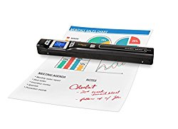 VuPoint PDSWF-ST47-VP Magic Wand Wireless Portable Scanner with Wi-Fi, JPEG/PDF, Color/Mono, 1.5″ LCD, 1050 DPI, Document, Photo, Receipts (Black)