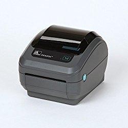 Zebra GK420d Monochrome Desktop Direct Thermal Label Printer, 5 in/s Print Speed, 203 dpi Print Resolution, 4.09″ Print Width, 100/240V AC