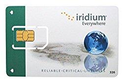75 minute 30 Day Prepaid SIM Card for Iridium Satellite Phone