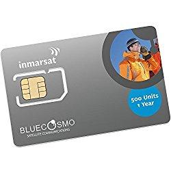BlueCosmo Inmarsat IsatPhone 500 Unit Prepaid SIM Card for IsatPhone Pro and IsatPhone 2