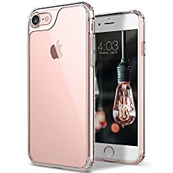 iPhone 7 Case, Caseology [Waterfall Series] Slim Transparent Clear Cushion Grip [Clear] [Air Space Tech] for Apple iPhone 7 (2016)