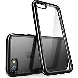 iPhone 7 Case, [Scratch Resistant] i-BlasonClear [Halo Series] for Apple iPhone 7 Cover 2016 Release (Clear/Black)