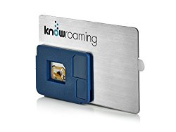 KnowRoaming Global SIM Sticker – Automatically Connect to Local Networks in 200+ Countries. Voice, Text and Data without the Roaming Fees – for iPhone, Android and Windows Mobile Phones
