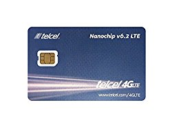 Telcel Nano SIM Card Mexico, Includes 100 Pesos Airtime, Ideal Iphone, Android