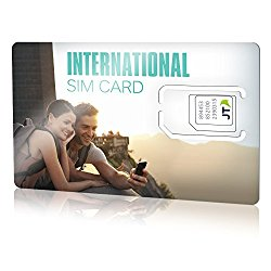Telestial OneRate International SIM card with $5.00 Credit for over 190 countries.