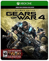 Gears of War 4: Ultimate Edition (Includes SteelBook with Physical Disc + Season Pass + Early Access) – Xbox One