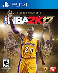 NBA 2K17 – Legends Gold – PlayStation 4
