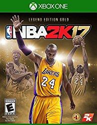 NBA 2K17- Legends Gold – Xbox One