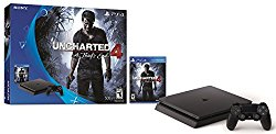 PlayStation 4 Slim 500GB Console – Uncharted 4 Bundle