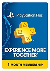 PlayStation Plus 1 Month Membership – PS3 / PS4 / PS Vita [Digital Code]
