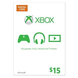 Xbox $15 Gift Card – Digital Code