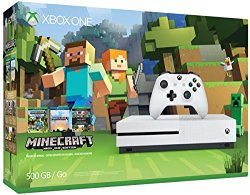 Xbox One S 500GB Console – Minecraft Bundle