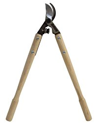 Flexrake FLX295 Forge 20-Inch Bypass Lopper Hickory Handle, 1-1/4-Inch Capacity