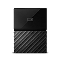 WD 1TB Black My Passport Portable External Hard Drive – USB 3.0 – WDBYNN0010BBK-WESN