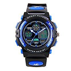 Hiwatch Kids Watches Boys Girls Waterproof Sports Digital Wrist Watch for Youth