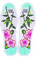 Features Insole Printing Pinhole Embroidery Insoles DIY Insoles