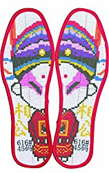 Sweat Insole DIY Insoles Hand Embroidered Insoles Challenging Insole