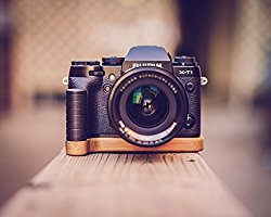 J.B. Camera Designs Pro Bamboo Grip for Fuji X-T1 – Handmade in the USA