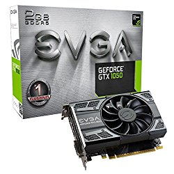 EVGA GeForce GTX 1050 GAMING, 2GB GDDR5, DX12 OSD Support Graphic Card (02G-P4-6150-KR)