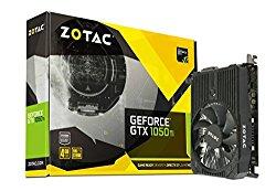 ZOTAC GeForce GTX 1050 Ti Mini, 4GB GDDR5 DisplayPort 128-bit PCI-E Graphic Card (ZT-P10510A-10L)