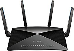 NETGEAR Nighthawk X10 – AD7200 802.11ac/ad  Quad-Stream MU-MIMO WiFi Router with 1.7GHz  Quad-core Processor & Plex Media Server (R9000-100NAS), Works with Amazon Alexa