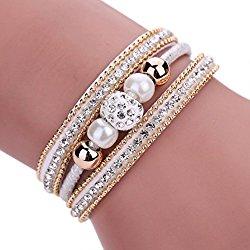 Welcomeuni Bohemian Bracelet Women (White)