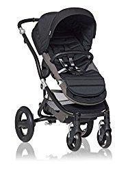 Britax Affinity Stroller Black with Color Pack, Black