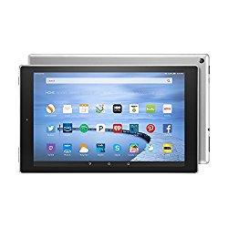 Fire HD 10 Tablet with Alexa, 10.1″ HD Display, 16 GB, Silver Aluminum