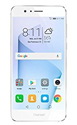 Huawei Honor 8 Unlocked Smartphone 32 GB Dual Camera – US Warranty (Pearl White)