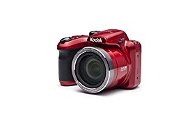Kodak 16 Astro Zoom AZ365 with 3″ LCD, Red (AZ365-RD)