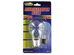 Kole Imports MS011 40 Watt Refrigerator Light Bulb
